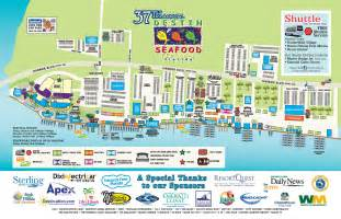 map to destin florida destin seafood festival destin harbor parking and maps