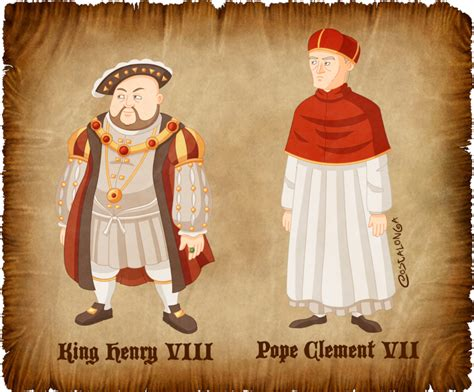 Tudor Design by King Henry Viii And Pope Clement Vii By Costalonga On