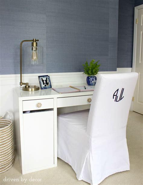 target desk hack modern coastal bedroom makeover reveal driven by decor