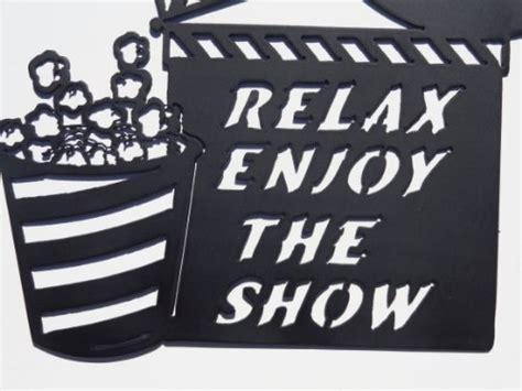 jnj metalworks clapboard  reel relax enjoy  show