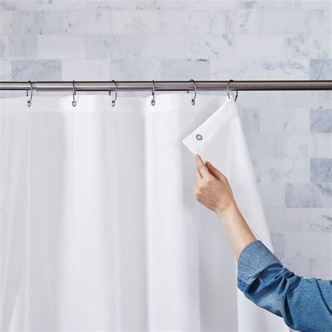 Hanging Shower Curtain by Hanging Shower Curtains And Liners Shower Curtain