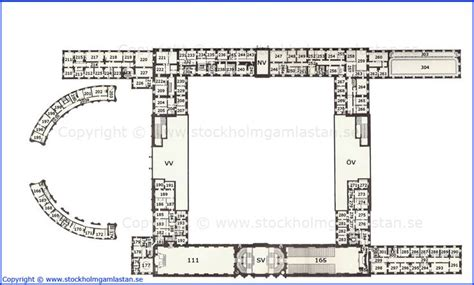 royal palace floor plans first mezzanine floor plan kungliga slottet royal palace stockholm sweden imperial and