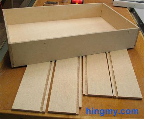 Building Drawer Boxes by Building Drawer Boxes