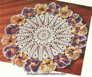 Free pattern crochet placemat doily easy crochet patterns