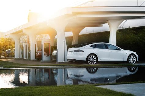 Charging Station Tesla Tesla Releases New Charging Software In Response To