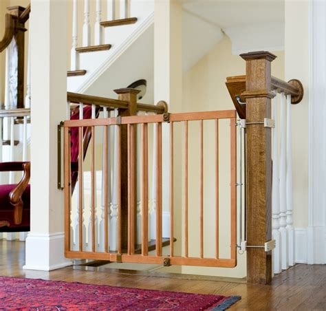 safety gate for stairs with banister how to choose and install a stair safety gate