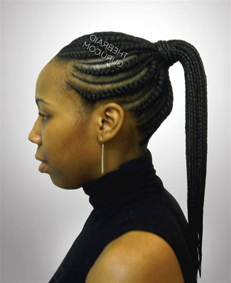 Cornrow Ponytail Hairstyles by Cornrow Ponytail Hairstyles Fade Haircut