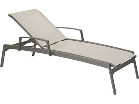 tropitone chaise lounge tropitone elance relaxed sling aluminum chaise lounge with