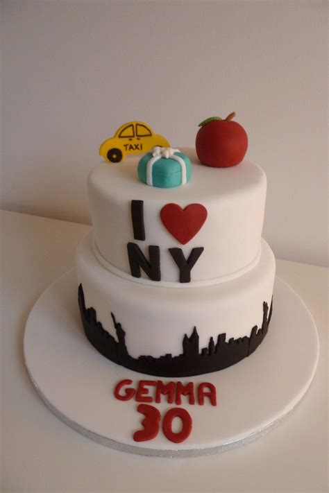 New York Themed Cake Decorations by New York Themed Cake Cakes By Siobhan Cakes By Siobhan