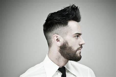hairstyles high fade with beard beard fade how to get the look
