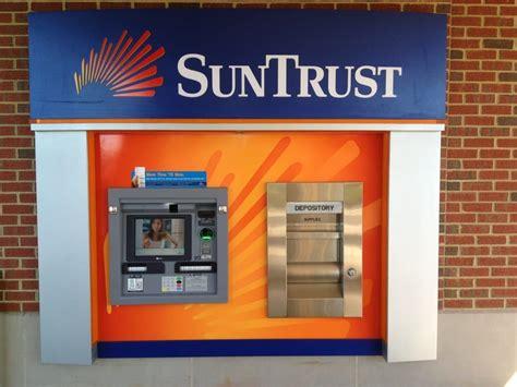 suntrust bank banking new atm no more deposit slips or envelopes it s scans