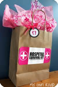 Baby Shower Gifts For by Hospital Survival Kit Baby Shower Gift This That