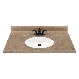 61x22 vanity top single sink 158 estate by rsi 37 quot w x 22 quot d stonetek kona vanity top