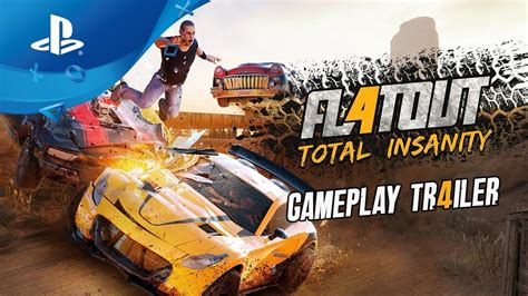 Flatout 4 Total Insanity Reg 2 Ps4 flatout 4 total insanity gameplay trailer ps4