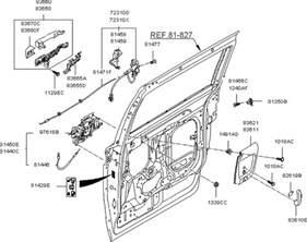 Kia Sedona Parts List Locking System Rear Door For 2012 Kia Sedona Kia Parts Now