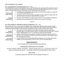 retail executive resume exle