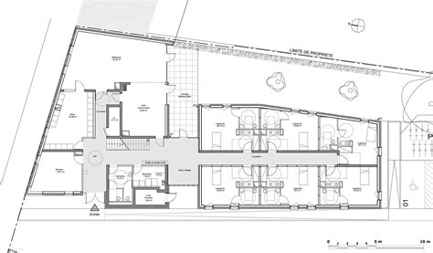do ground lines go in a floor plan gallery of 24 housing units zanon bourbon architects 13