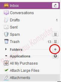 membuat folder pada email yahoo tips mengelolah email yahoo belajar ilmu komputer