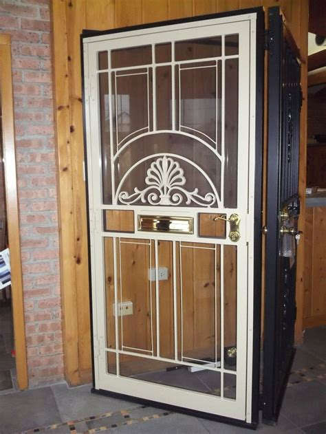 Metal Security Doors by Steel Security Doors Chicago Brick Repair Nombach