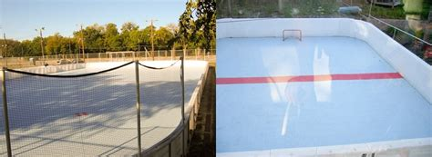 backyard rink boards dasher boards outdoor hockey rink oakville hamilton gta