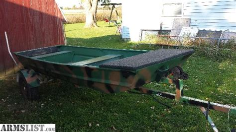 flat bottom jon boats for sale in ohio armslist for sale trade 12ft flat bottom jon boat and