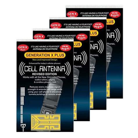 4 cell phone antenna signal reception booster