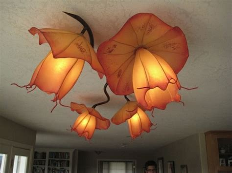 Creative Paper Crafting Portland - hiih made paper lights and design