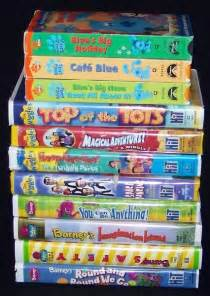 Blue s clues vhs tapes