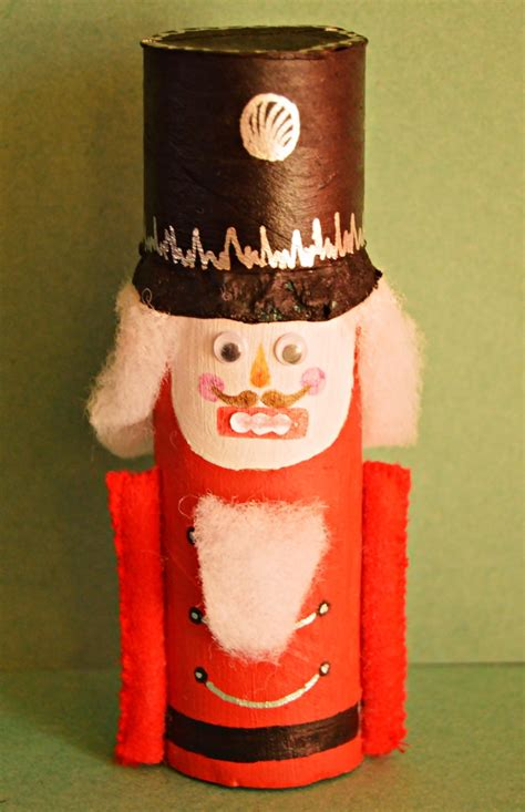 How To Make Sticks With Toilet Paper Rolls - nutcracker toilet paper roll craft