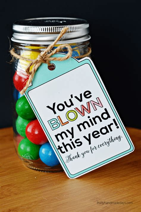 Appreciation Handmade Gift Ideas - you ve blown my mind appreciation gift