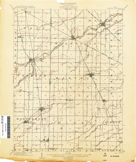 ohio to texas map ohio historical topographic maps perry casta 241 eda map collection ut library