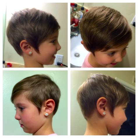 pixie hair cuts for kids that are 8 years old kids toddler short pixie haircut girls asymmetrical hair