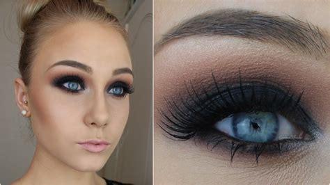 eyeliner tutorial for beginners youtube for beginners black smokey eye in 12 simple steps youtube