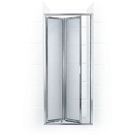 26 Shower Door Coastal Shower Doors Paragon Series 26 In X 71 In Framed Bi Fold Hinged Shower Door In