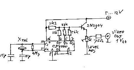 pattern generator circuit ron s radio corner diy video pattern generator
