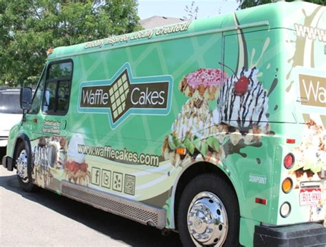 food truck design maker the waffle cakes food truck maker of gluten free waffle