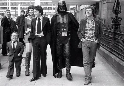 anthony daniels school mark hamill kenny baker and anthony daniels promoting