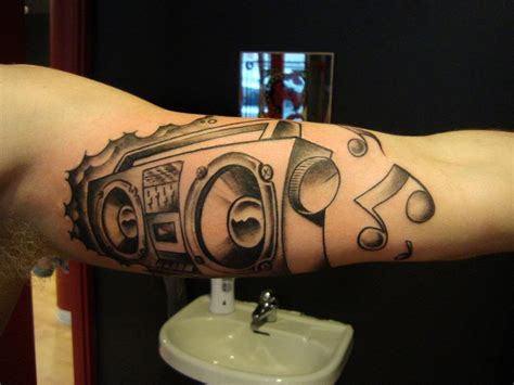 boombox tattoo 1000 images about note ideas on