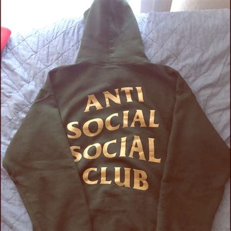 Hoodie Sweater Anti Social Social Club Assc Real Pict anti social social club authentic anti social social