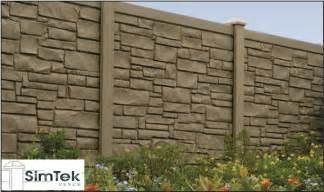 Concrete Landscape Borders simtek fences edges landscape designs