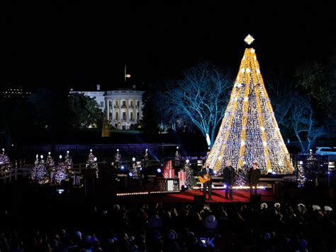 tcu tree lighting 2017 christmas tree lighting nyc performers 2017