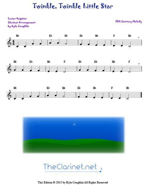 printable number line twinkle jingle bells clarinet sheet music free printable jingle