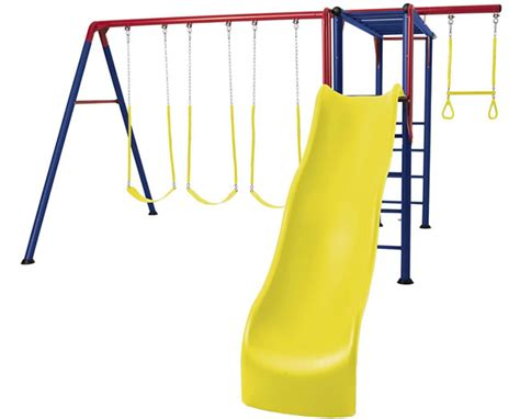 lifetime swing set with monkey bars lifetime monkey bar adventure swing set playground