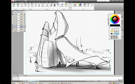 sketchbook tutorial autodesk autodesk alias sketch for autocad technology preview