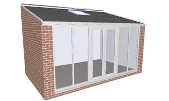 Sunroom Roofs Pre Fabricated House Extensions With Tiled Roofs