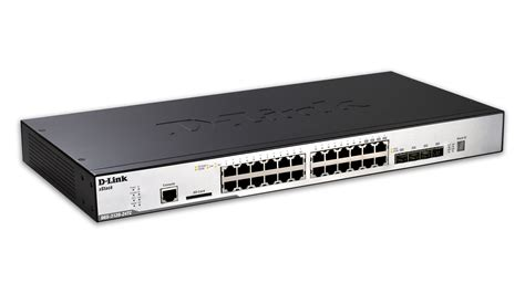 Switch Gigabit 24 Port 24 port managed gigabit stackable l2 switch including 4 combo sfp ports d link