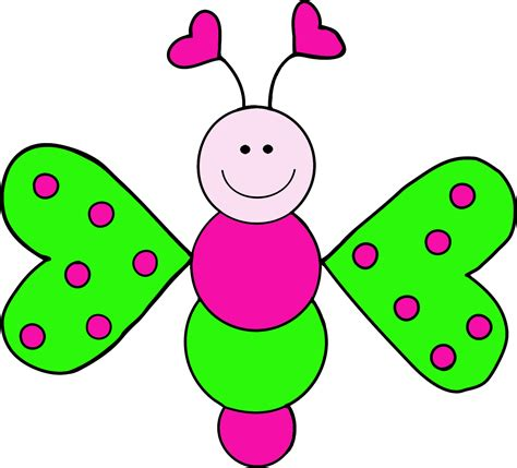 free butterfly clipart green butterfly clipart cliparts co
