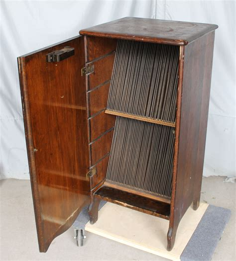 bargain johns antiques antique oak victor record