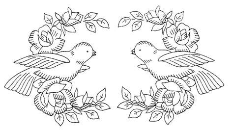 cuscino portafedi da ricamare disegno da ricamare colombe cuscino portafedi