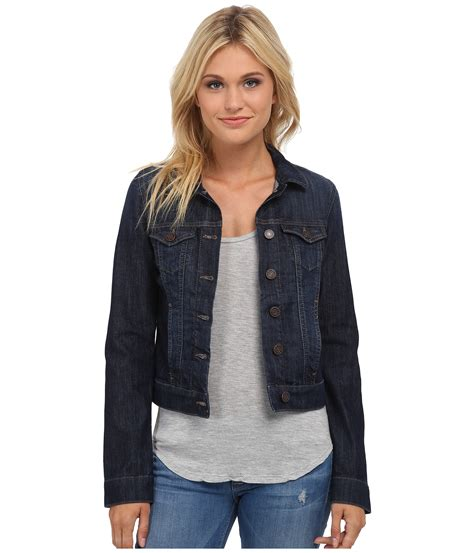 Samanta Longvest mavi denim jacket in nolita zappos free shipping both ways